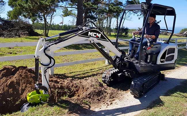 18D MCM Excavator