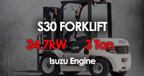 MCM S30 Forklift