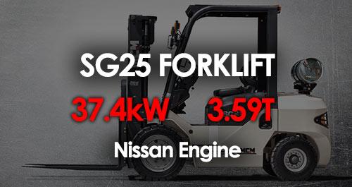 MCM SG25 Forklift