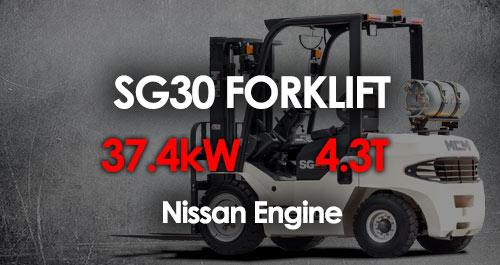 MCM SG30 Forklift