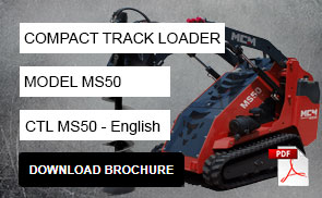 MS50 Compact Track Loader