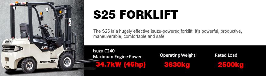S25 Forklift