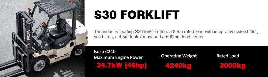 S30 MCM Forklift