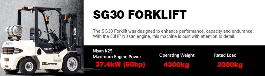 SG30 MCM Forklift