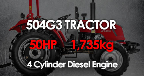 504G3 MCM Tractor