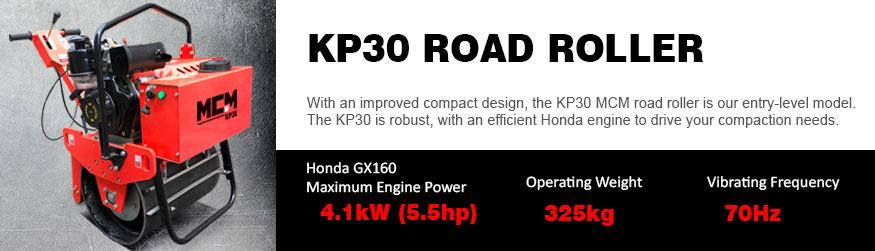KP30 MCM Road Roller