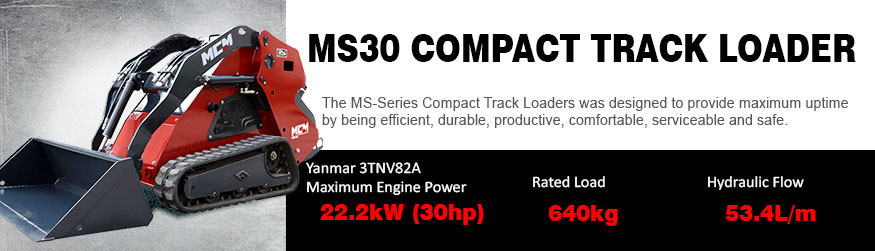 MS30 MCM Compact Track Loader