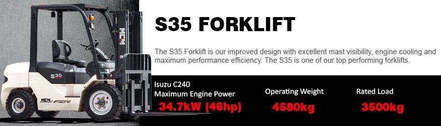 S35 MCM Forklift