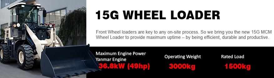 15G MCM Wheel Loader