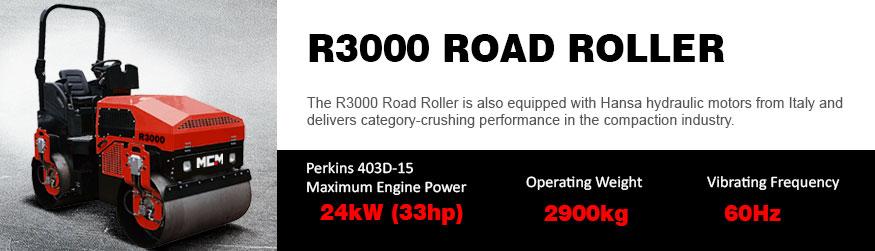 R3000 MCM Road Roller