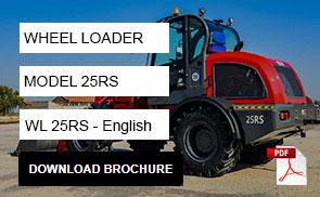 25RS Wheel Loader Brochure