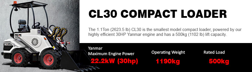 CL30 MCM Compact Loaders