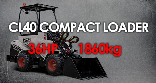 MCM CL40 Compact Loader