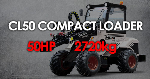MCM CL50 Compact Loader