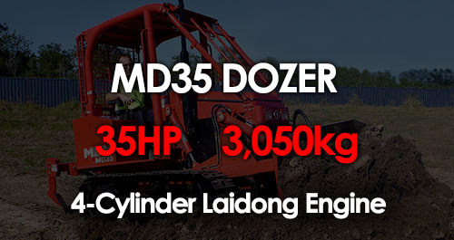 MD35 Compact Dozer South Africa