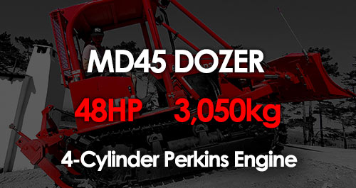 MD45 South African Compact Dozer