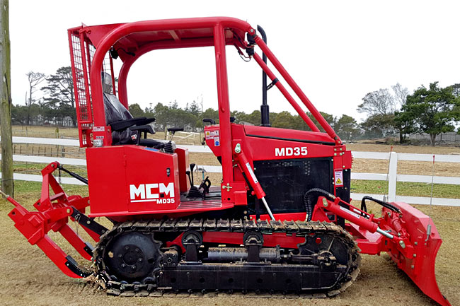 MD35 Compact Dozer