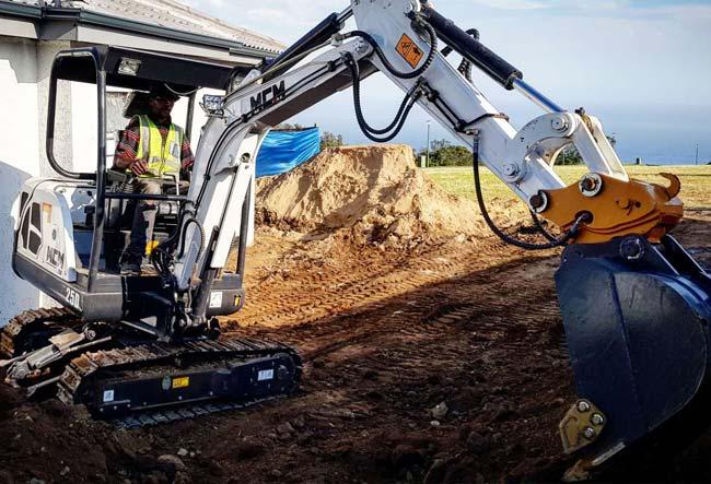 25D MCM Excavator South Africa Feeler Yanmar Kubota 03