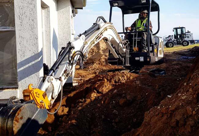 25D MCM Excavator South Africa Feeler Yanmar Kubota 05