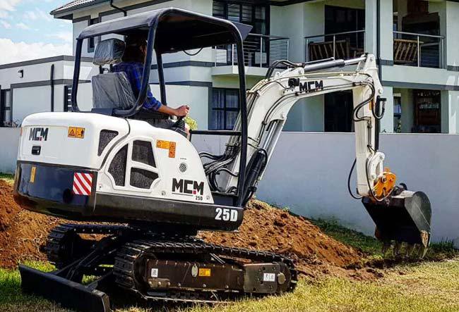 25D MCM Excavator South Africa Feeler Yanmar Kubota 06