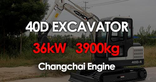 MCM 40D Excavator