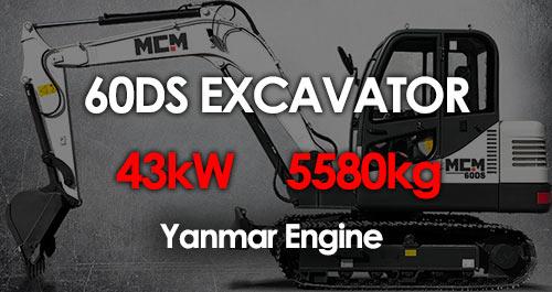 MCM 60DS Excavator