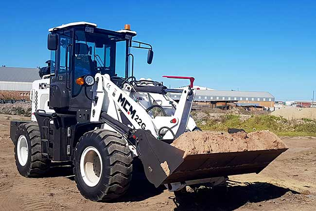 2.2Ton Wheel Loader in South Africa MCM