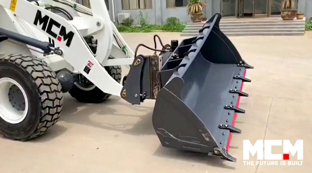 MCM Rotating Wheel Loader Bucket