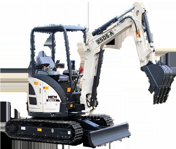 25DS MCM Excavator
