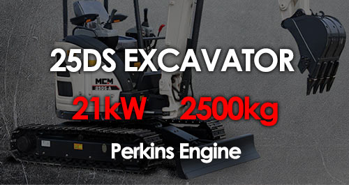 MCM 25DS Excavator