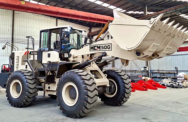 50G Model FEL Wheel Loader MCM South Africa