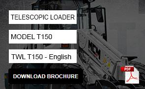 T150 Telescopic Loader Brochure Download pdf