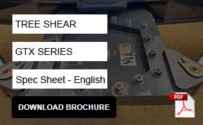 MCM GTX Series Tree Shear Attachment