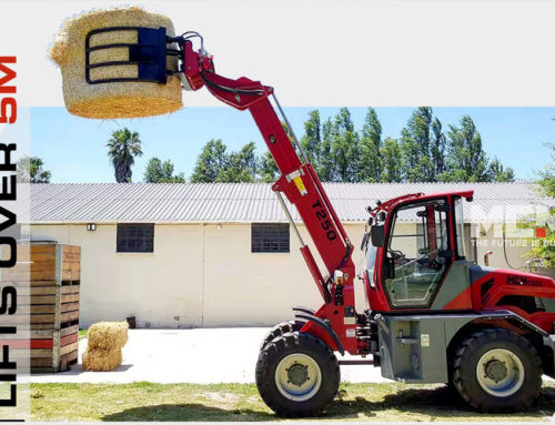 Up To 5m Working Height – Closer Look At The T250 Telescopic Loader